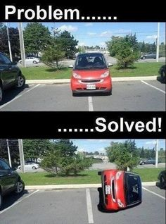 Real Smart! Fucking Smart Cars that I absolutely hate!!