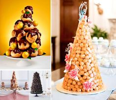 2015 Wedding Cake Trends: French Influenced Treats – Macrons, Croquembouche & Crepes
