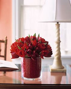 A great roundup of Valentine decor ideas on Remodleaholic