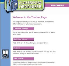 How would you like to know where all of your library books are by looking at your phone?  There is a FREE app & website that allows you to scan every book in your classroom, organize them by genre, reading level, title, author etc..  You add your students and then they check out books using the app.  You can set it up where students have to review the book when they return it.  All the information is stored in a database and you can look at reports showing you trends.