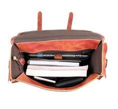 Brown Leather Satchel Leather Briefcase Rucksack Backpack