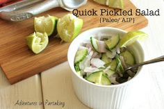 Quick Pickled Salad