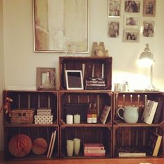 Dream Decor, Liquor Cabinet, Bookcase, Kasser, Inspiration, Furniture, Dreams, Decorating, Flat