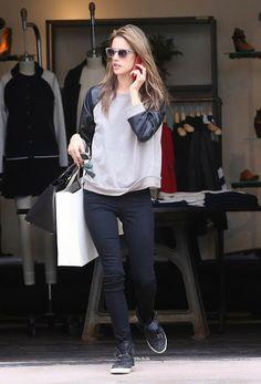 Get the look fashion city mom de Alessandra Ambrosio