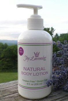 Natural Lavender Body Lotion Lavender farm lotion Lavender Hand lotion Lavender Body Lotion
