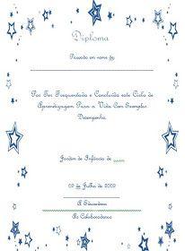 Educ@ naWeb ....Pré-Escolar: Diplomas de Finalistas Bullet Journal, Infancy