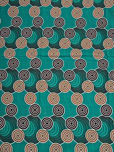 Super deluxe wax africain motif tourbillon coloré 100%coton sw3259409