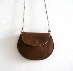 Leather women wallet  Crossbody leather purse  brown by Smadars, $97.00