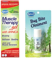 $1 off Hylands Muscle Therapy Gel Or Bug Bite Ointment Coupon on http://hunt4freebies.com/coupons