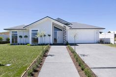 Our show homes perfectly demonstrate what you can expect from a Penny Homes build. Visit our Taupo or Wellington show home for inspiration. Hampton Beach, My House Plans, Contemporary House Plans, Building Companies, Beach Look, Coastal Style, Home Builders, Exterior Design, Planer