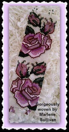 Sterling Silver Roses   Bead-Patterns