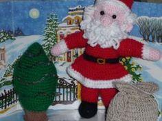 Père Noël au crochet - CAL 2010 - par Des idees et des mains
