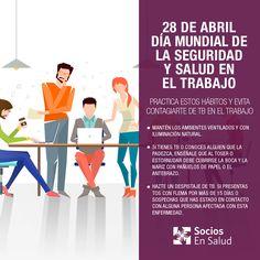 ¡Hoy celebramos el #DiaMundialSST! Únete a #SociosEnSalud y juntos fomentemos una  cultura de prevención de #SST. http://www.sociosensalud.org.pe/