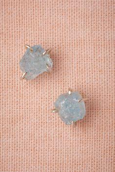 Silver Tendrils Studs from BHLDN earrings