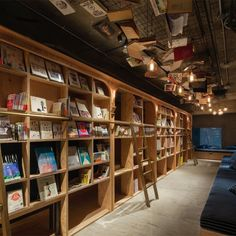 Book and Bed hostel by Suppose Design Office, Tokyo – Japan Quirky Places To Stay, Bookstore Design, Suppose Design Office, Unusual Hotels, Amazing Hotels, Amazing Places, Capsule Hotel, Tokyo Hotels, Tokyo Japan