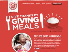 The Red Bowl Challenge - Web Design Inspiration