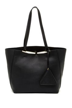 Allegra Faux Leather Structure Tote