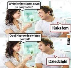 Dziedzięki za kakało Dankest Memes, Funny Memes, Jokes, Polish Memes, Weekend Humor, Funny Lyrics, Great Memes, Stuff And Thangs, Insta Photo