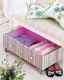 Under bed or sofa storage Decor, Dorm Room Decor, Bed Storage, Old Drawers, Home Decor, Drawers On Wheels, Sofa Storage, Flipping Furniture, Storage