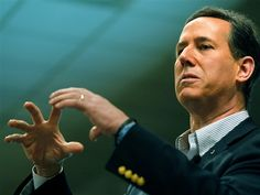 2/27 Joe Raedle / Getty Images  Republican presidential candidate Rick Santorum often splits his time on the stump between focusing on jobs and social issues.