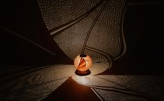 Sculptural Lamps Crafted from Gourds Project Dazzling Displays of Light - My Modern Met