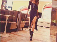 miss-shoppaholic:  asymmetrical hem dress