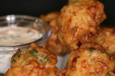 Caribbean Conch Fritters