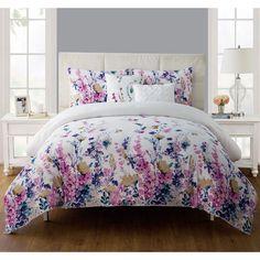 Children's Bedding/Comforter:Twin XL Flower Misha 5pc Comforter Set #VCNY