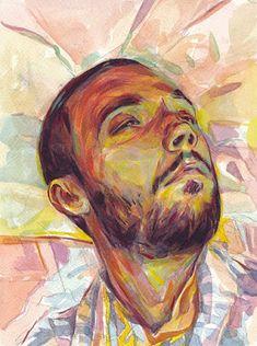 Kokoris Dimitris: Self-portrait Thessaloniki, Self, Illustrations, Fine Art, Portrait, Drawings, Artwork, Artist, Painting