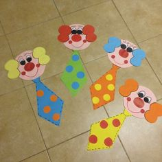 "Latest Pic mothers day Crafts for Kids Suggestions How many times what's your youngster state: ""I am bored."" As well frequently intended for sure Clown Crafts, Circus Crafts, Carnival Crafts, Carnival Decorations, Circus Art, Circus Theme, Diy And Crafts, Crafts For Kids, Paper Crafts"