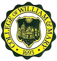 Seal of The College of William & Mary  William and Mary is actually a university, but has chosen to keep its historic name