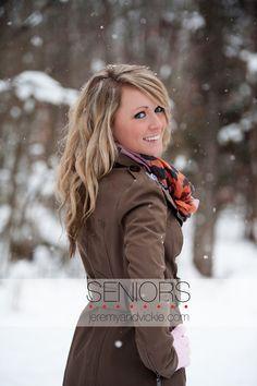 senior photo winter snowing - Google Search