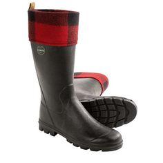 Le Chameau Filson Anjou Rubber Boots - Waterproof (For Women))