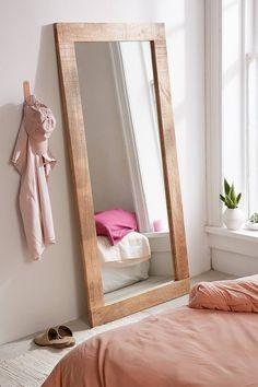 Ashton Mango Wood Mirror | Urban Outfitters