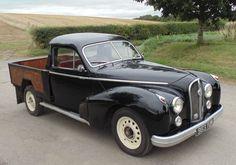Luxury Car to Pick-Up: 1952 Hotchkiss Anjou