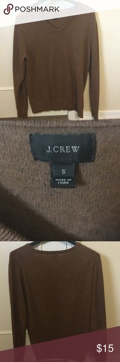 J Crew men's v neck sweater 100% cotton small Excellent condition. Smoke free home. J. Crew Sweaters V-Neck