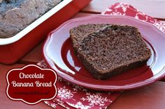 Mommy's Kitchen: Chocolate Banana Bread