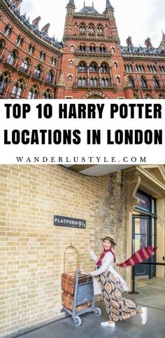 TOP 10 HARRY POTTER LOCATIONS IN LONDON - Walking Tour - London Travel Tips, Harry Potter London | Wanderlustyle.com