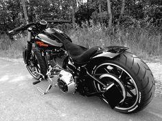 My Harley Davidson Breakout