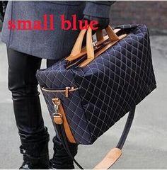 1dbf22b7cdca Men Fashion Waterproof Travel Bags Large Capacity Women Luggage Travel  Duffle Bags Nylon Business Travel Handbag