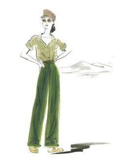 Costume Designer Joanna Johnston #Allied #MarionCotillard