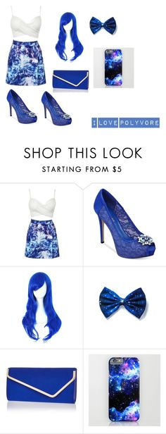 """Just Blue"" by sturne04 ❤ liked on Polyvore featuring GUESS and River Island"