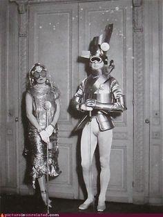 Early sci-fi fancy dress