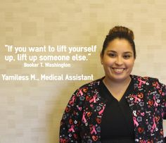 Meet the team! Yamiless or Mimi as we call her is one of our devoted and caring Medical Assistants. Mimi will take the time to get to know you as a person and not just a patient. Next time you are in our office, be sure to say hi to Mimi! Podiatry, Medical Assistant, Foot Pain, Meet The Team, Getting To Know You, Say Hi, Call Her, Leg Pain