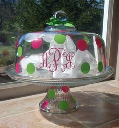 Cake Stand. I will be making this.