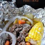 Campfire Favorites: Beef and Veggie Hobo Packs