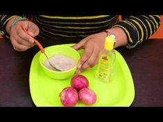 How To Use Onion Juice For Hair Regrowth & Stop Hair Loss - YouTube