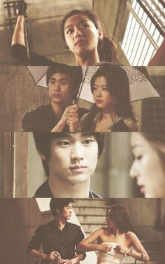 """awesome Kim Soo Hyun - Collages of the frames of the film """"Thieves."""""""