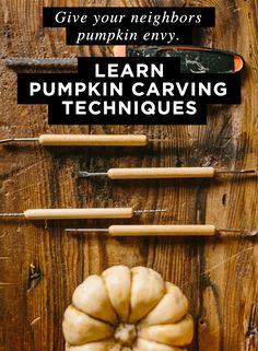 Creative Pumpkin Carving Ideas, Patterns, and Tools with Jason Hoppe will teach you the art of pumpkin carving and prepare you with the skills you need to make a Jack-O-Lantern that impresses.