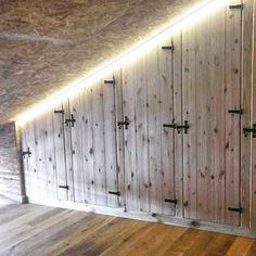 Zabudowa poddasza zrealizowana z wykorzystaniem naszych uchwytow ;) #realizacja #inspiracja #poddasze #attic #loft #uchwyty #retro #drewno #wood